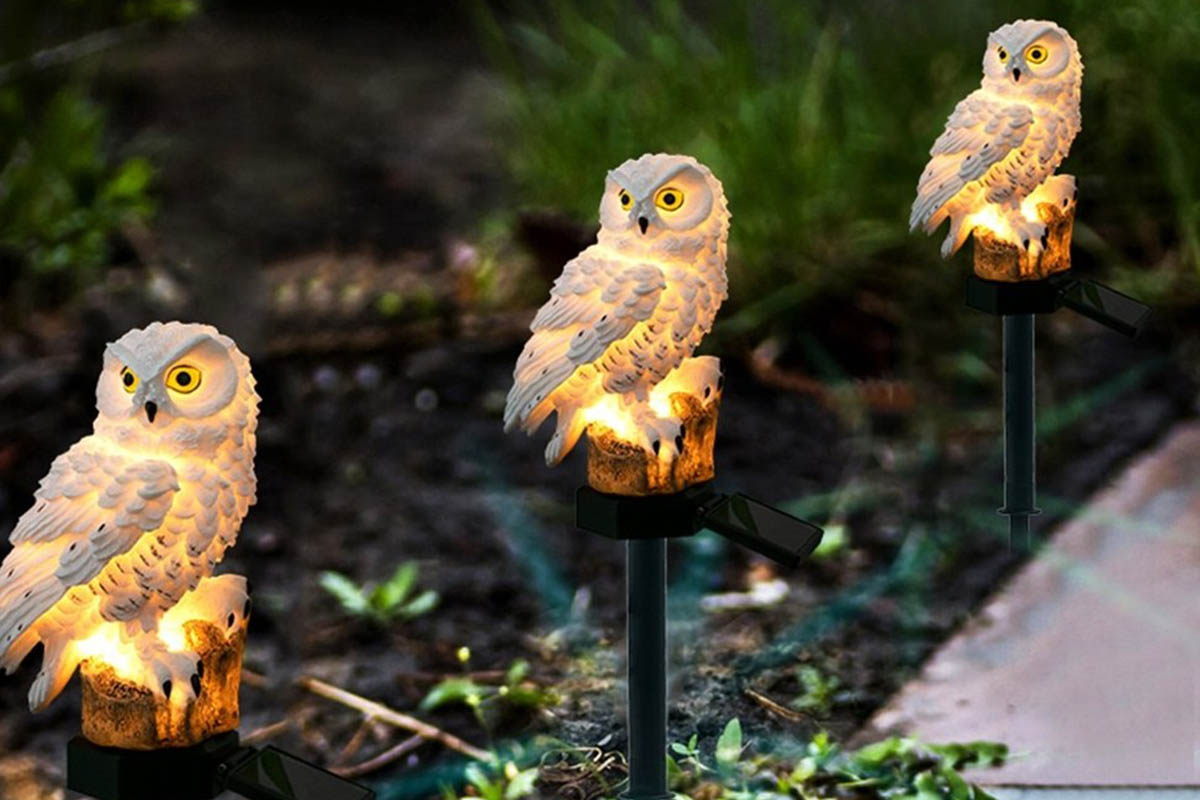Hanging Tree Cornet Cone LED Garden Lights by Solalite Review