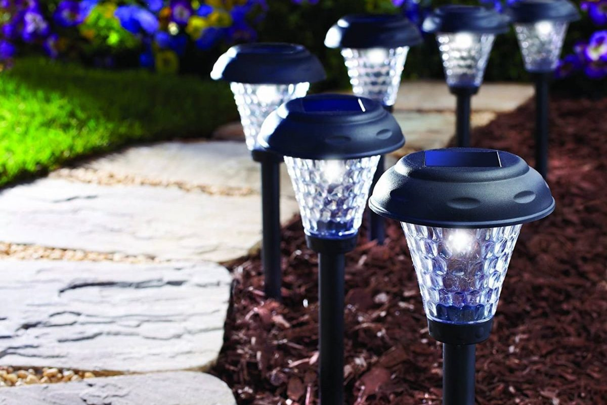9.8-inch LED Lighting Solar Garden Lights By IMISS Review