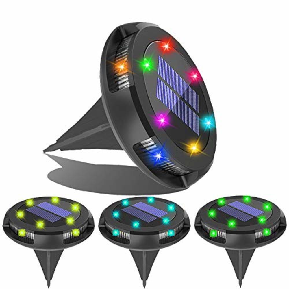 LeBreak Garden Disk Lights