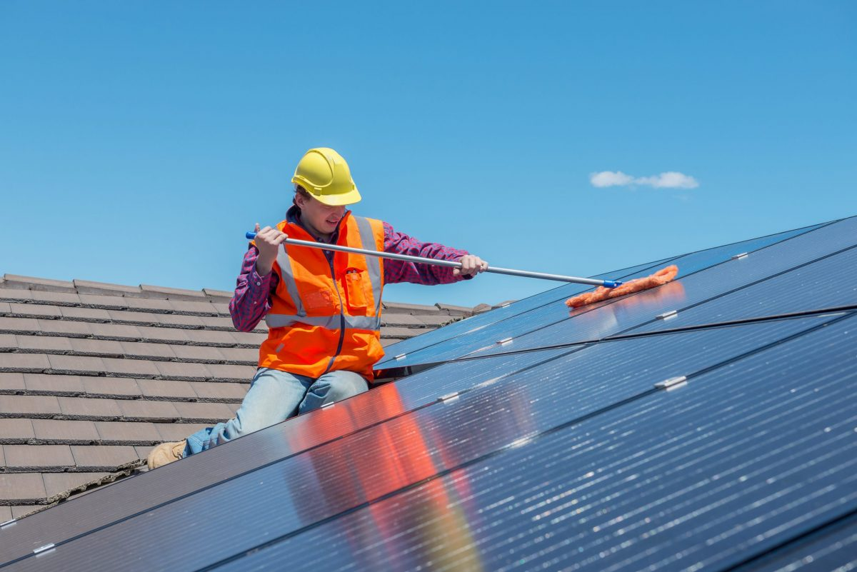 How to Clean and Maintain Your Solar Panels